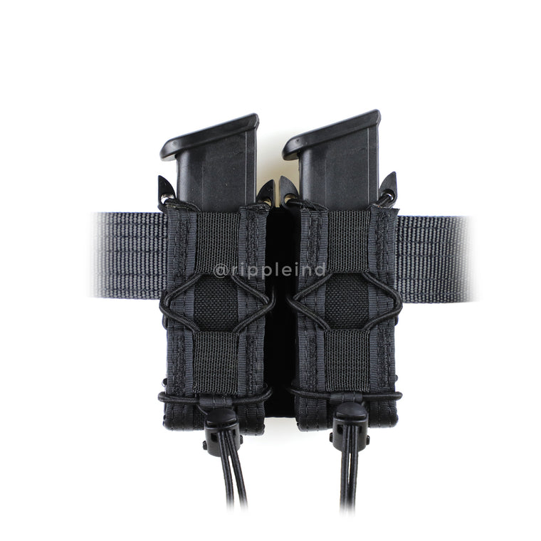 HSGI - Black - BELT MOUNT Pistol Taco (Double)