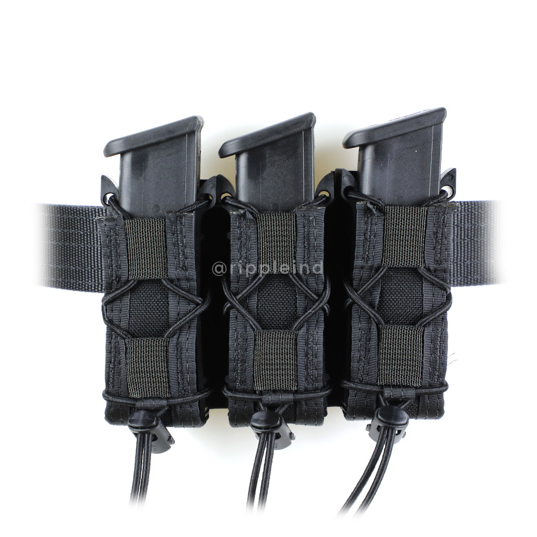 HSGI - Black - BELT MOUNT Pistol Taco (Triple)