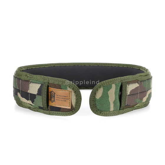 HSGI - Woodland - SLIM-GRIP Padded Battle Belt