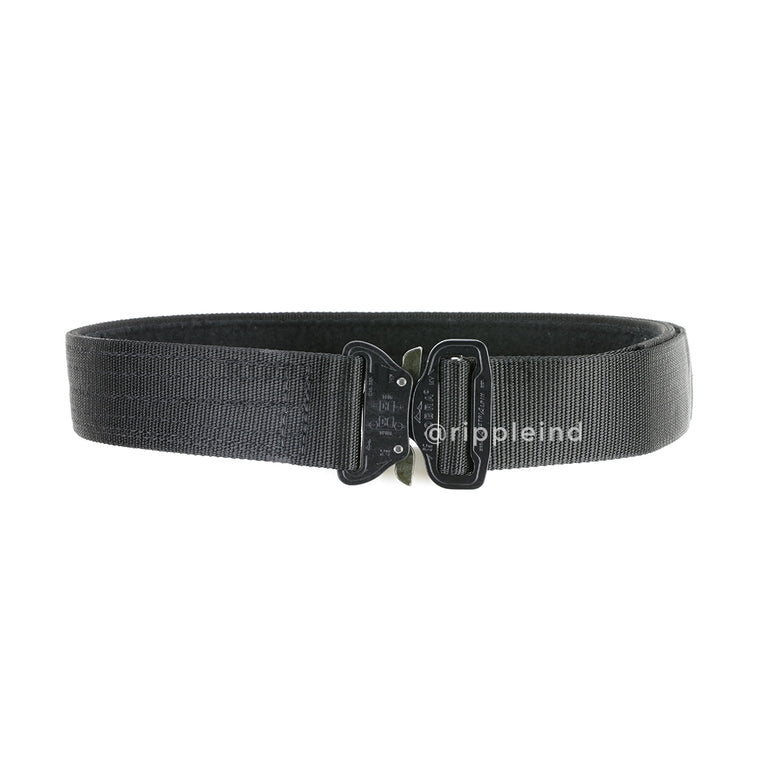 HSGI - Black - Cobra 1.75inch Rigger Belt w/Interior Loop - No D-Ring