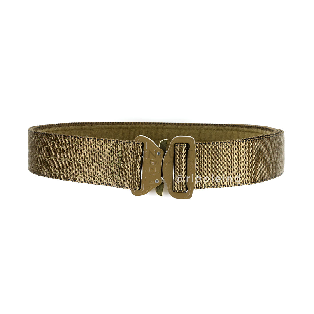 Hsgi coyote brown cobra rigger belt w - Cobra 1 75 rigger belt with interior velcro ...