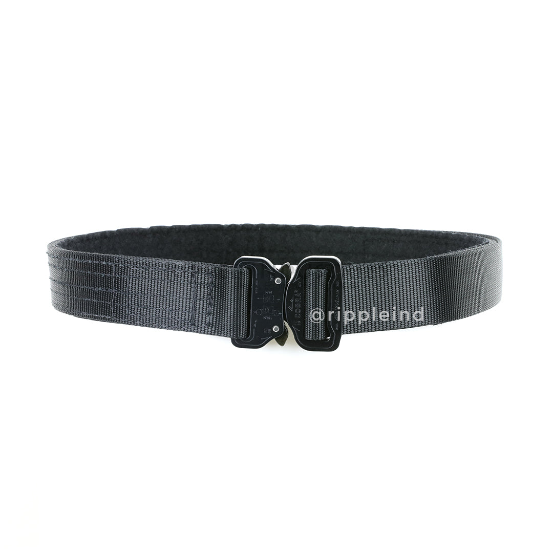 Hsgi black cobra rigger belt w interior velcro - Cobra 1 75 rigger belt with interior velcro ...