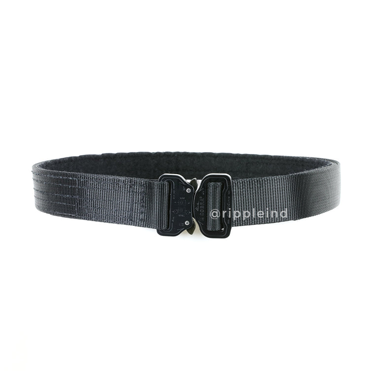 HSGI - Black - Cobra 1.5inch Rigger Belt w/Interior Loop
