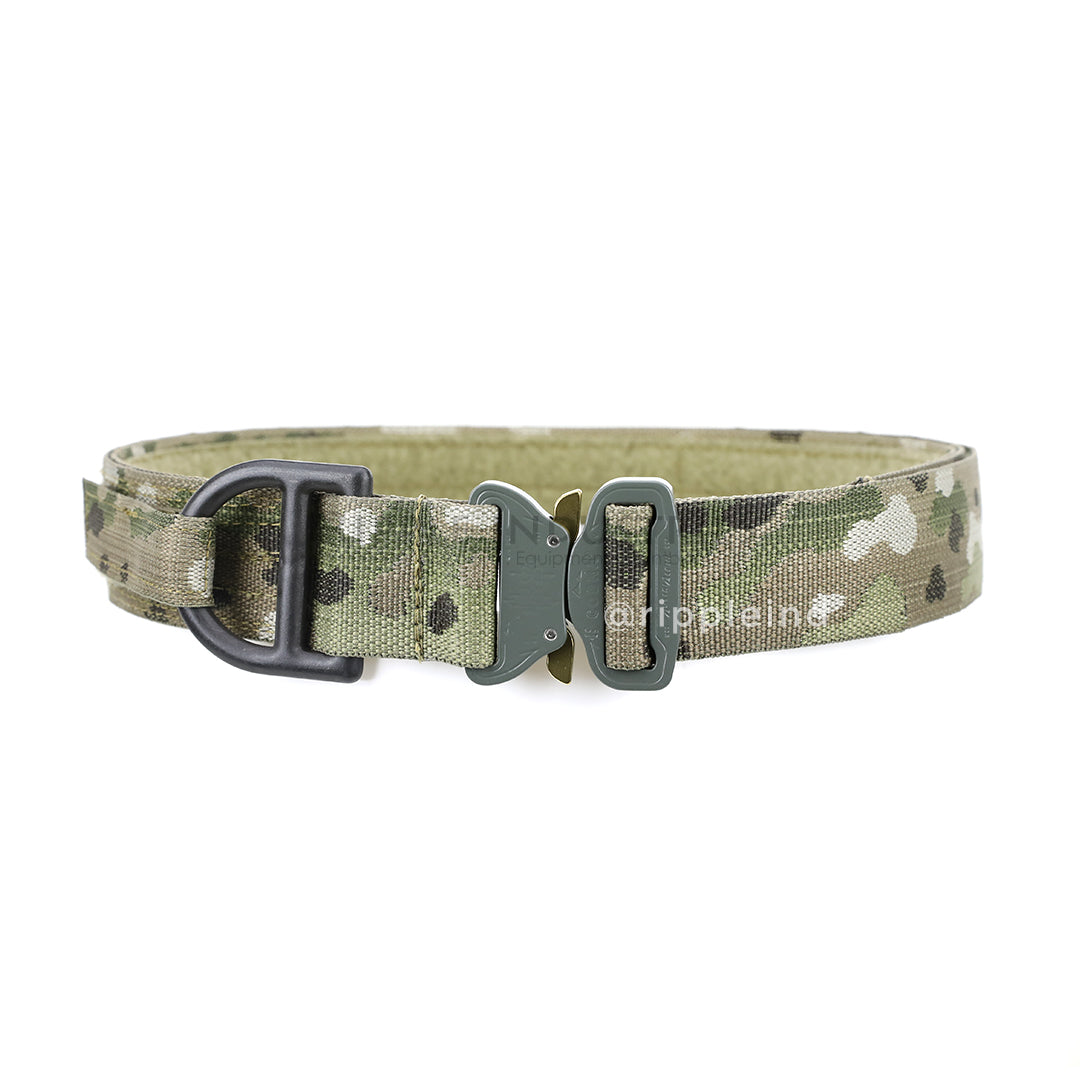 HSGI - Multicam - Cobra 1.75inch Rigger Belt w/D-Ring & Interior Velcro