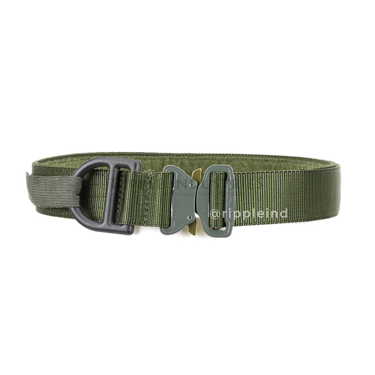 HSGI - Olive - Cobra 1.75inch Rigger Belt w/D-Ring & Interior Loop