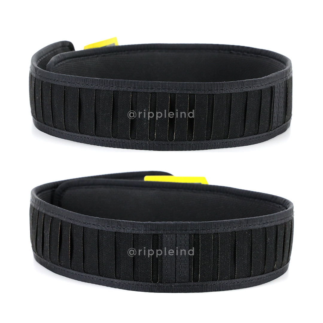 HSGI - Wolf Grey - LASER Duty Grip Padded Belt