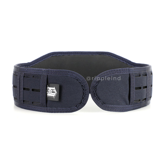 HSGI - LE Blue - LASER SLIM-GRIP Slotted Padded Battle Belt