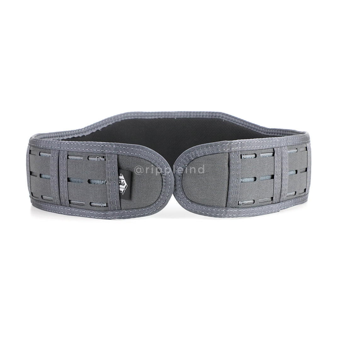 HSGI - Wolf Grey - LASER SLIM-GRIP Slotted Padded Battle Belt