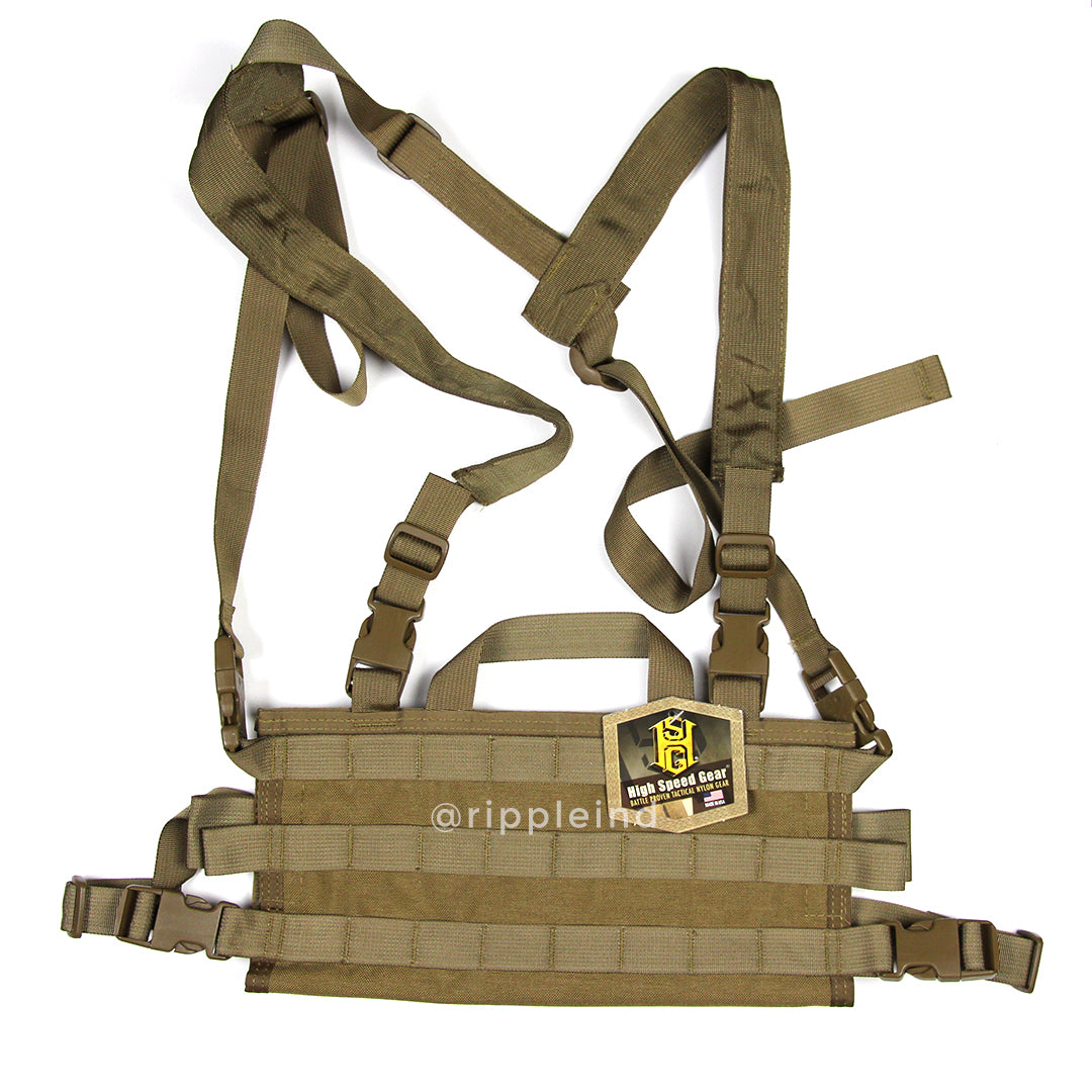 HSGI - Coyote Brown - AO Chest Rig