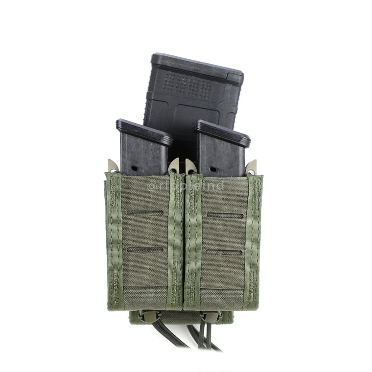 HSGI - Olive - DUTY Pistol Taco (Double w/Rifle)