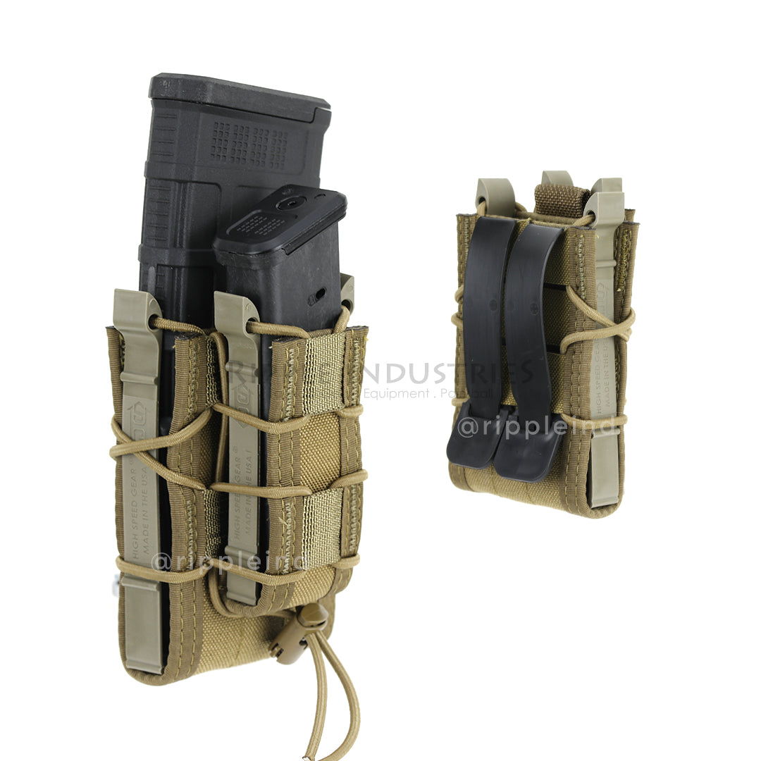 HSGI - Coyote Brown - Double Decker Taco Mag Pouch