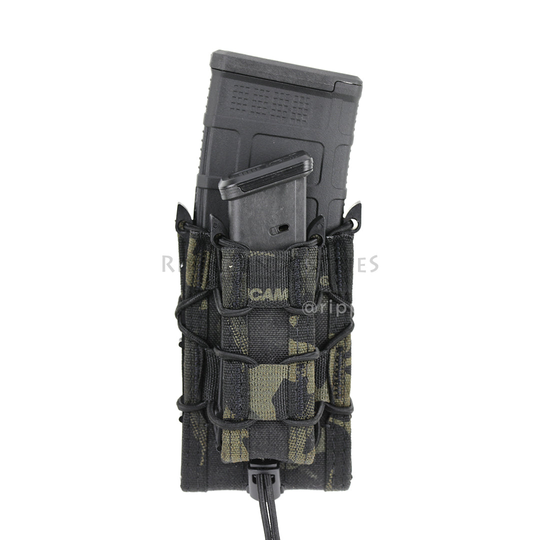 HSGI - Multicam Black - Double Decker Taco Mag Pouch