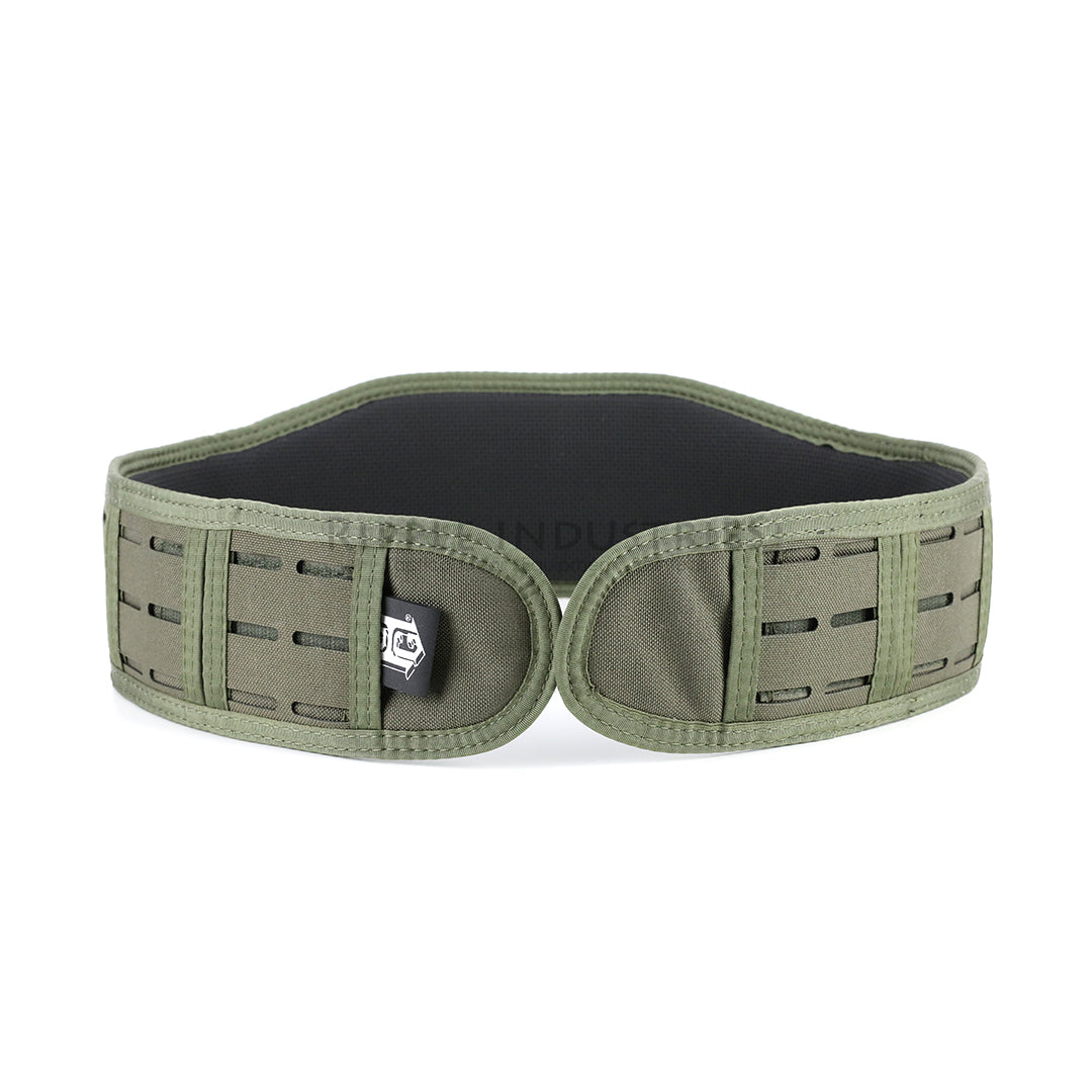HSGI - Olive - LASER SLIM-GRIP Slotted Padded Battle Belt