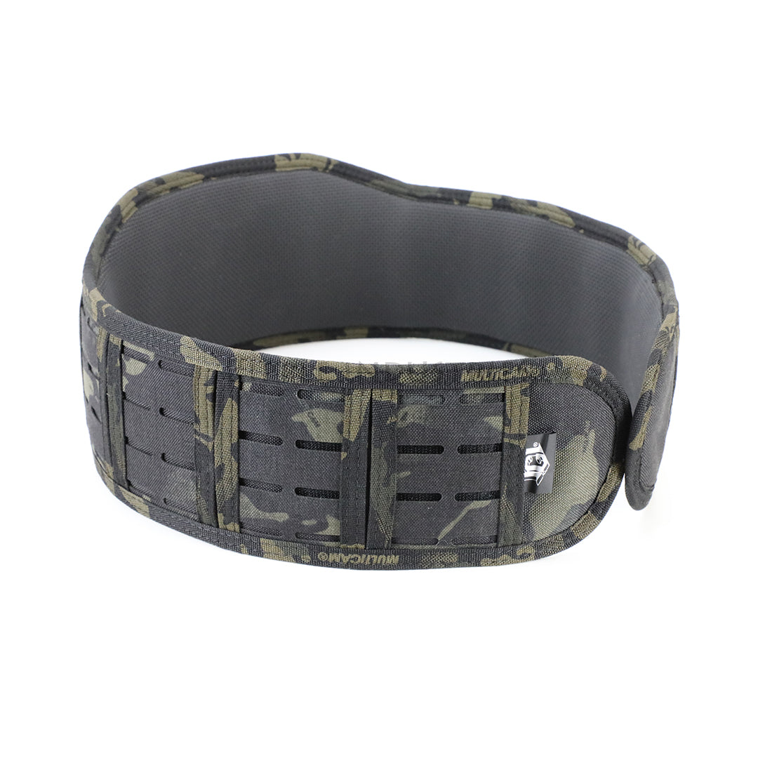 HSGI - Multicam Black - LASER SURE-GRIP Slotted Padded Battle Belt