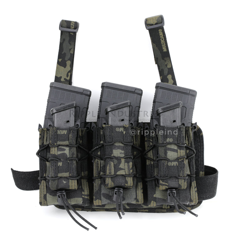 HSGI - Multicam Black - Double Decker Leg Rig