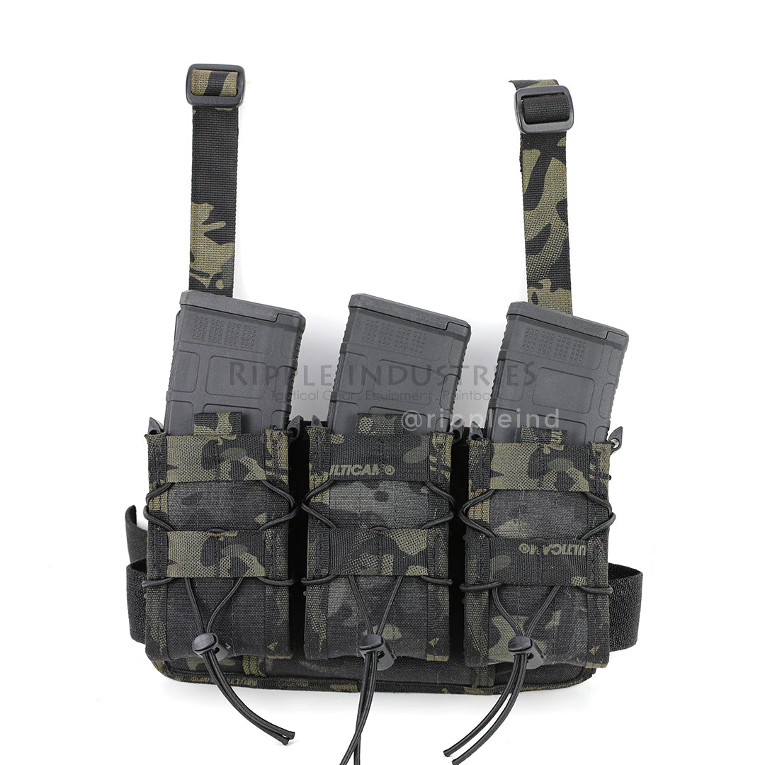 HSGI - Multicam Black - Rifle Leg Rig