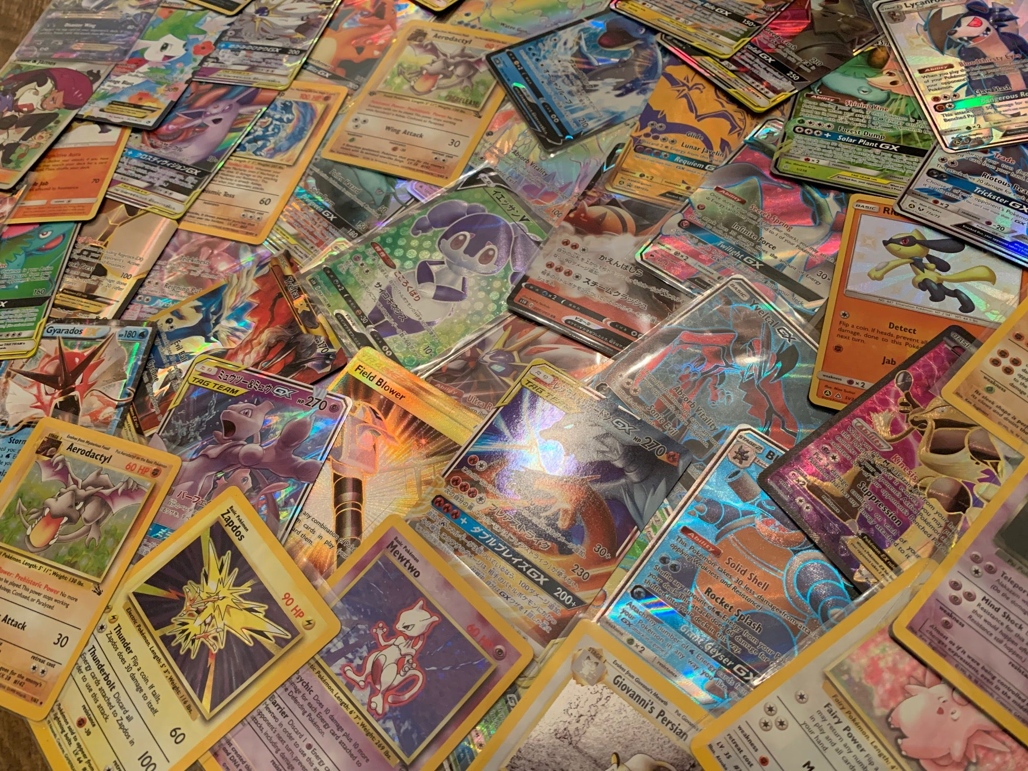 25 Cards w// EX GX /& Full Art! Pokemon Card Lot Japanese Ultimate Collection