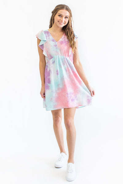 Kinsley Tie-Dye Sun Dress
