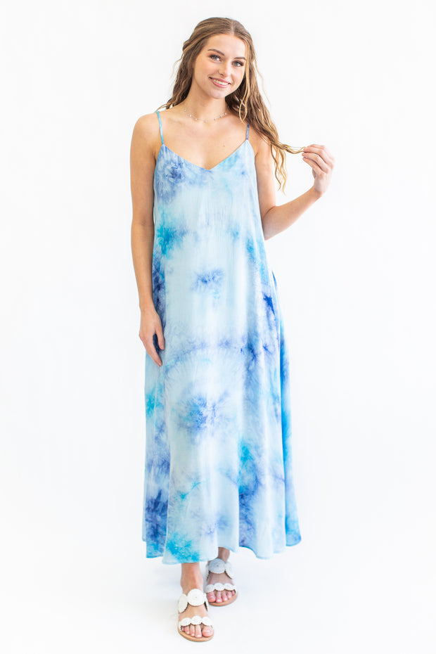 By The Water Tie Dye Maxi Dress