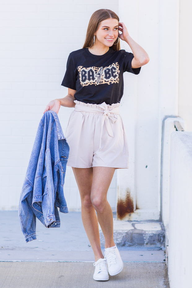 Steele Paper Bag Shorts Oatmeal