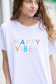 Happy Vibes Graphic T-Shirt