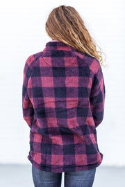 Simply Southern Sherpa Buffalo Plaid - FINAL SALE