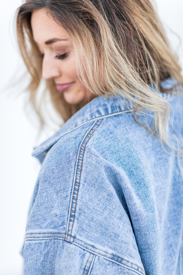 """On The Move"" Denim Jacket"