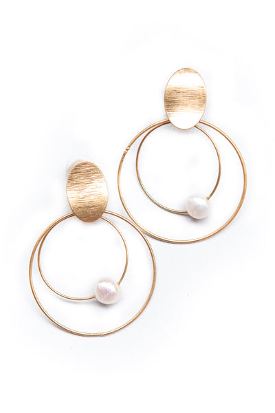 Kylie Earrings Gold