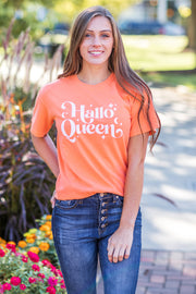 """Hallo-Queen"" Graphic Tee"