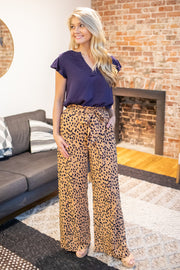"""Tons of Fun"" Cheetah Print Pants"