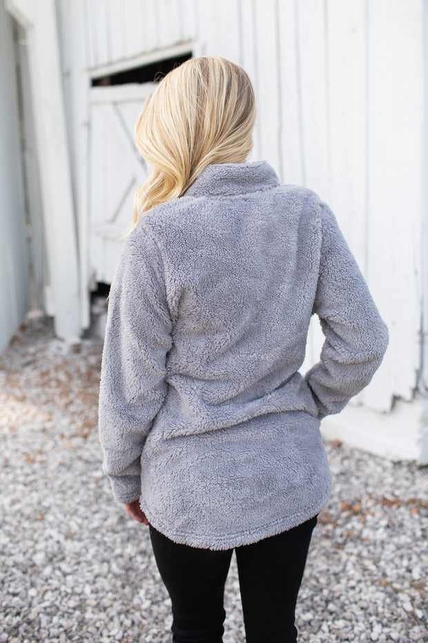 Newport Fleece Full Zip Jacket Grey
