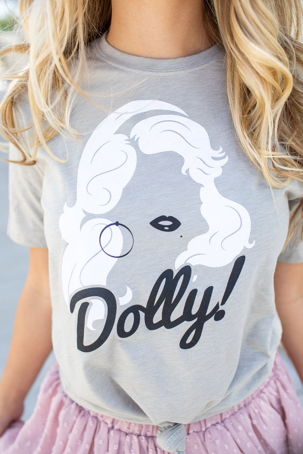 Glitter Dolly Graphic Tee