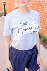 """I Love Monroe"" Graphic Tee"