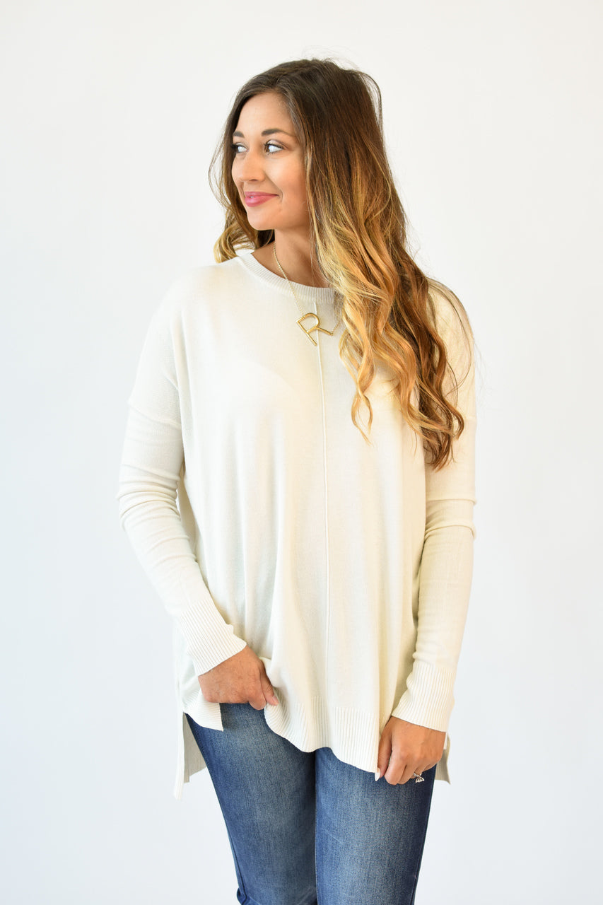 Lola Buttery Soft Top Ivory
