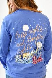 Crisp Nights and Bonfire Lights LS