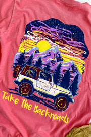"""Take The Backroads"" Anna Grace S/S T-Shirt"