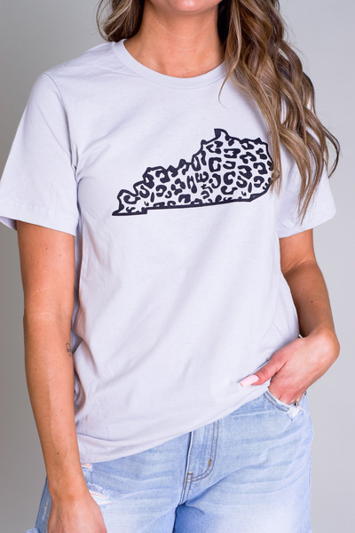 PRE-ORDER Leopard Print Kentucky Graphic Tee