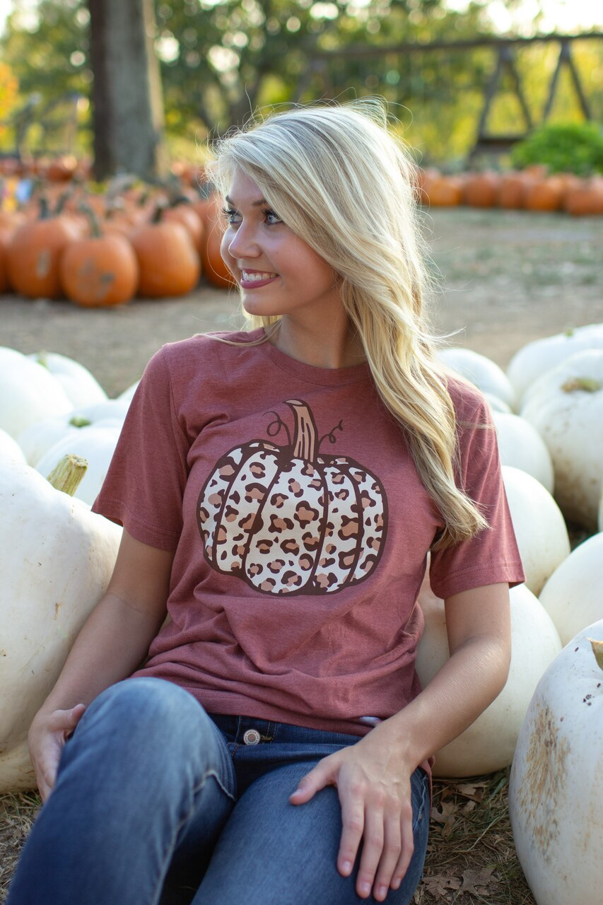 """Wild About Fall"" Graphic Tee"