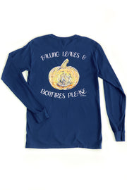 """Pumpkins Please"" Anna Grace L/S T-Shirt"
