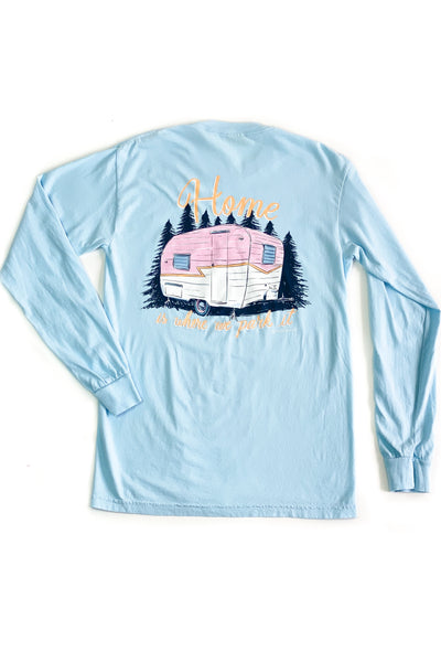 """Home Camper"" Anna Grace L/S T-Shirt"