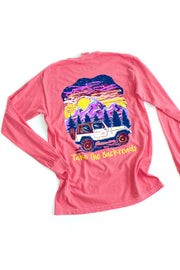 """Take The Backroads"" Anna Grace L/S T-Shirt"