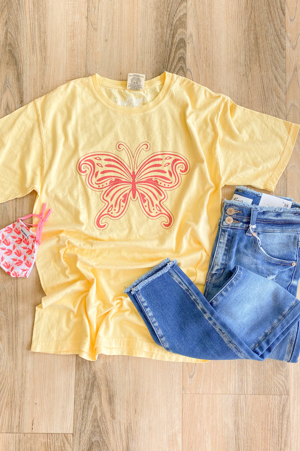 Love Is Like A Butterfly Graphic T-Shirt
