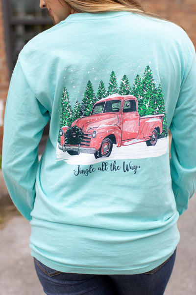 """Jingle Truck"" LS T-Shirt"