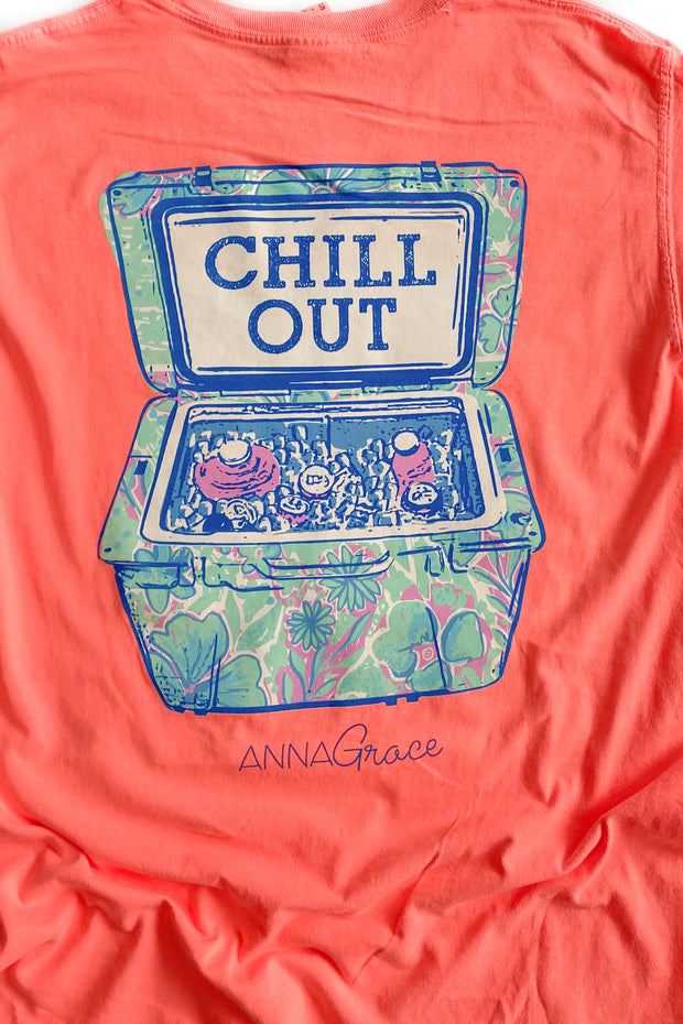 Chill Out Anna Grace T-Shirt S/S