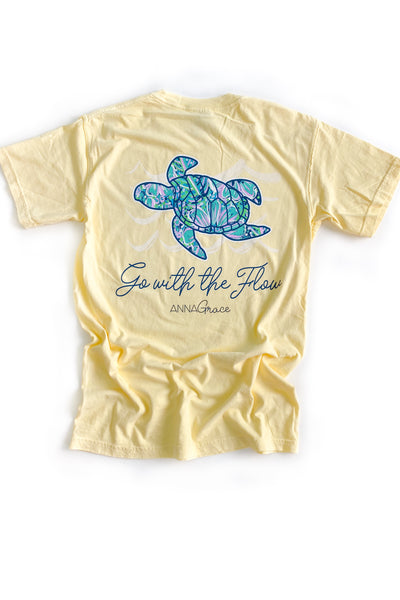 Go With The Flow Anna Grace T-Shirt S/S
