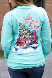 """Jingle All The Way"" LS T-Shirt"