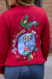 """Joy to The World"" LS T-Shirt"