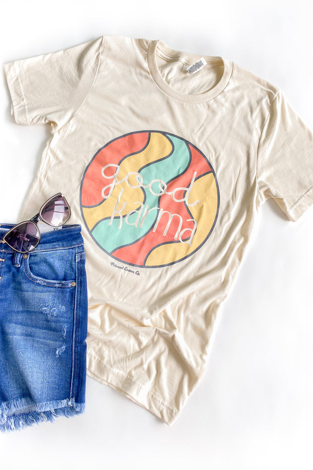 Good Karma Graphic T-Shirt