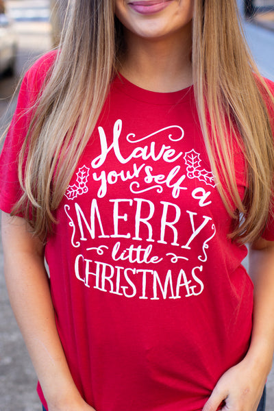"""Have Yourself a Merry Christmas"" Graphic Tee"