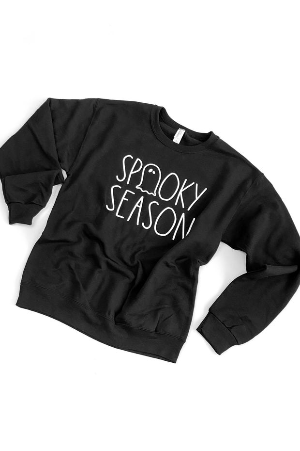 """Spooky Season"" Sweatshirt Black"